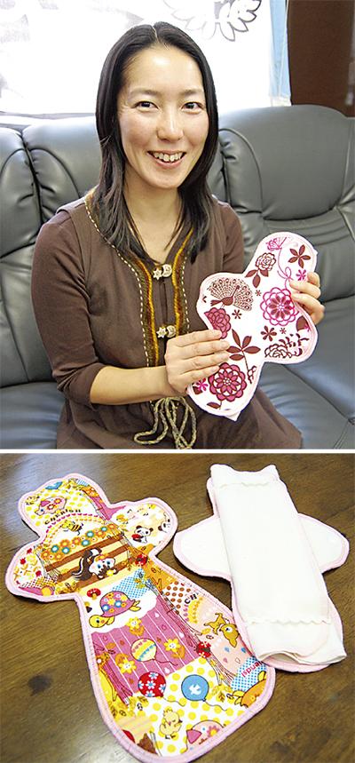 「体と環境に優しい」布ナプキン