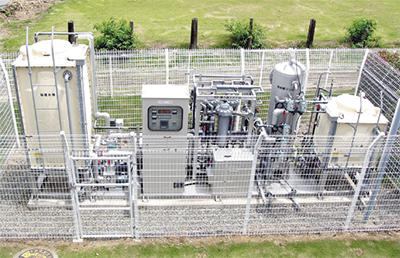 地下水供給設備を導入