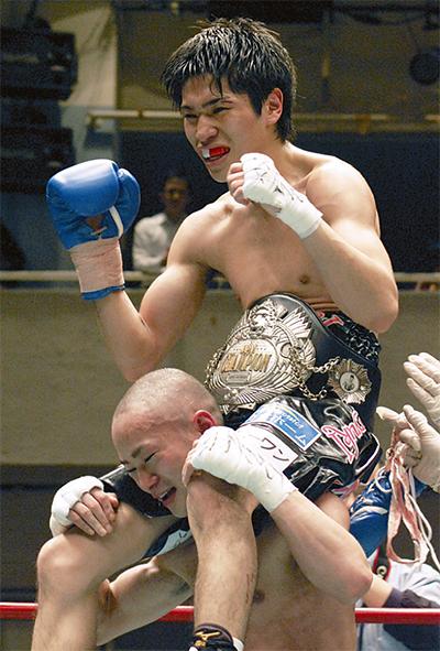 黒田選手が日本王者に