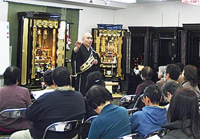 奈良薬師寺の僧侶が法話会
