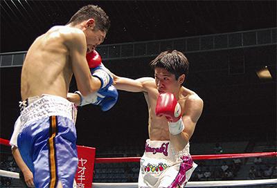 黒田選手が初防衛