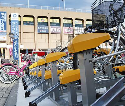 駐輪場整備 防犯に効果