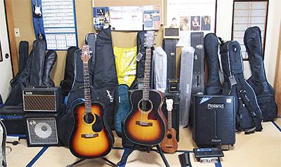 被災地へギターを送ろう
