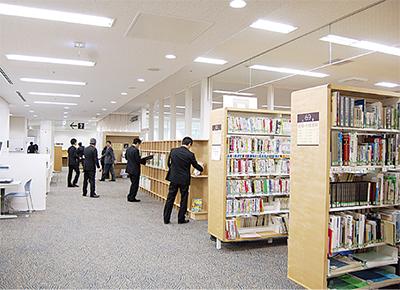 中原図書館オープン