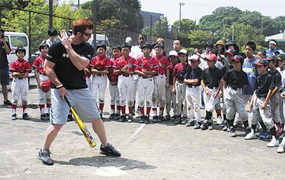 豪華コーチ陣と野球を