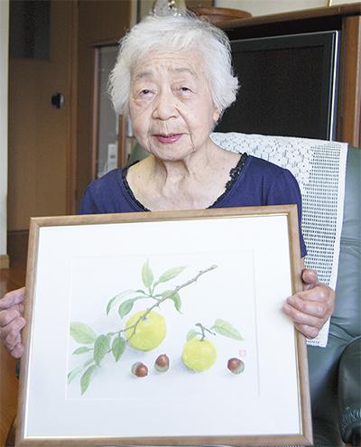 100歳記念に初個展