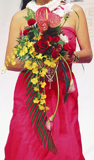 花の祭典 全国の作品集う