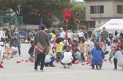 生田で親子運動会