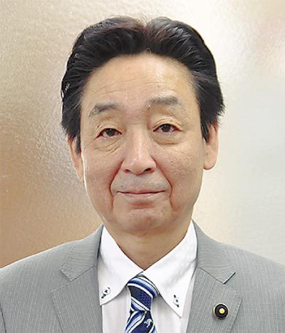 県議会議長に土井氏