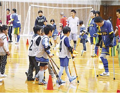 障害者スポーツ体験を