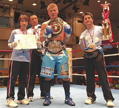 KOで東洋日本2冠獲得