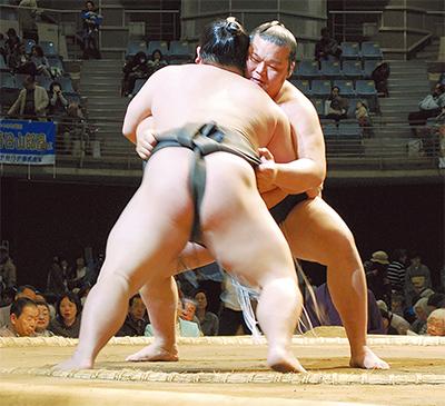 19年ぶり大相撲に歓声