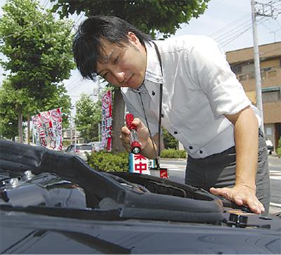 夏に備え車の買取を強化