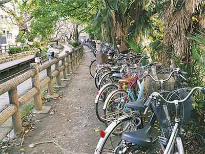 自転車放置 禁止指定へ