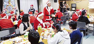 クリスマス子ども集う
