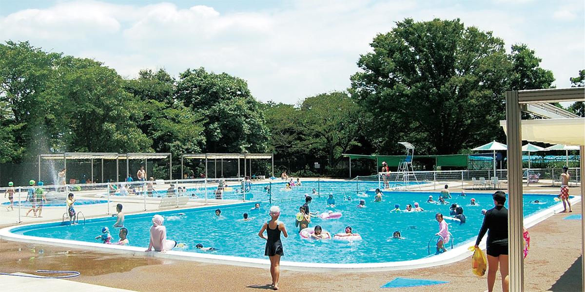 児童プールも夏本番