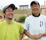川島さん(右)と宮田さん