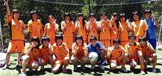 県ベスト8に入った女子のトップチーム