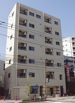 綱島街道沿いに完成した11戸の賃貸マンション