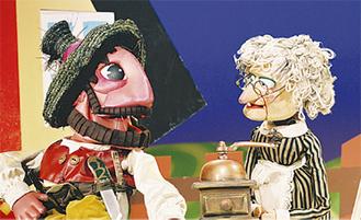 愉快な大ドロボーの人形劇