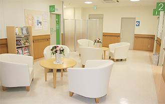 ▲健康診断センターとなる予定のフロア