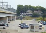 有料化される丸子橋駐車場