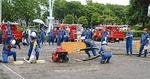 消防団も利用する催し物広場