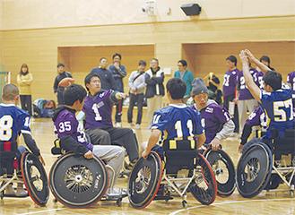 関東初上陸の車椅子アメフットも体験できる