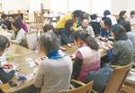 地域住民と施設利用者が共に楽しんだ手芸教室(2月開催)