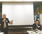 川崎中ロータリークラブ様の例会の場でお話しさせて頂きました