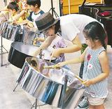 澄んだ音色を奏でた子どもたち