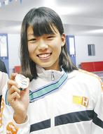 澤野莉子さん、JOC準優勝