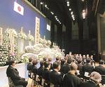 今年の戦没者追悼式の様子