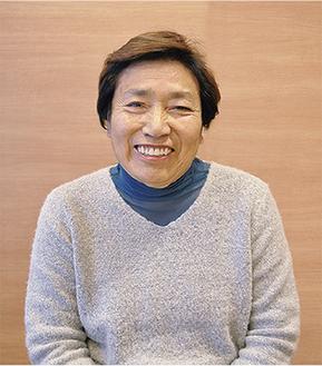 笑顔で話す森田さん