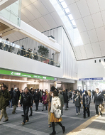 川崎駅北口、供用始まる