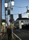街路灯に、長寿命のLED