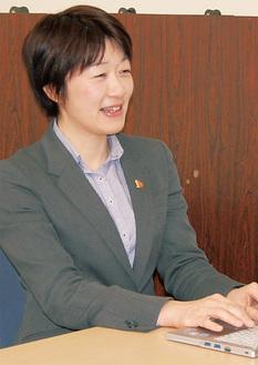 代表取締役の高橋陽子さん