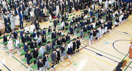 小杉小学校、102人が門出