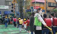 児童500人「横断」に対策