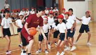 プロバスケ選手と「対戦」