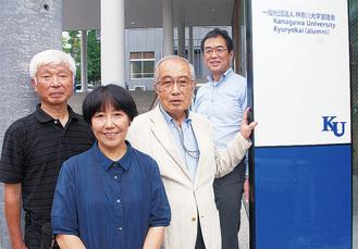 川崎市宮陵会メンバー(右から2人目が小林会長)