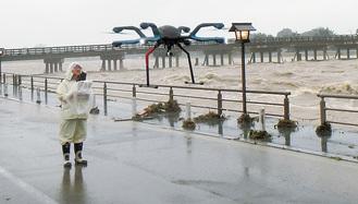 全天候型ドローン=国土交通省提供