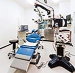 手術室もその時代の最新の設備に