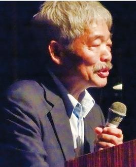 今年9月、エポックなかはらで講演した中村哲さん