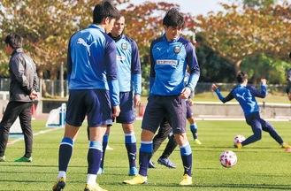 リーグ開幕を控える選手(C)川崎フロンターレ