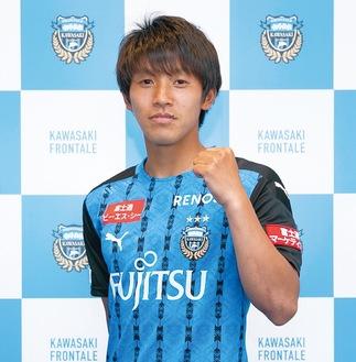 特別強化選手に承認された橘田選手(C)KAWASAKI FRONTALE
