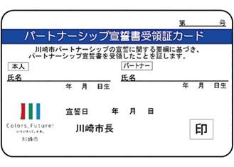 受領証カード