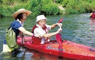 多摩川をカヌーで渡ろう