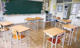 市立中の特別支援教室