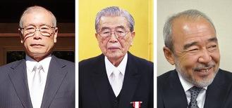(右から)北方さん(2012年撮影)、青木さん、小島さん